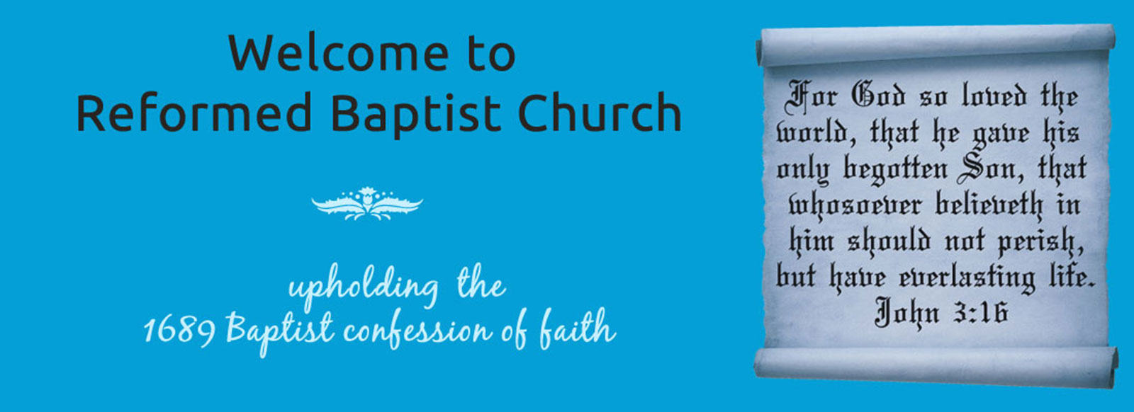 Welcome to Reformed Baptist Church, We publish tamil christian messages every week